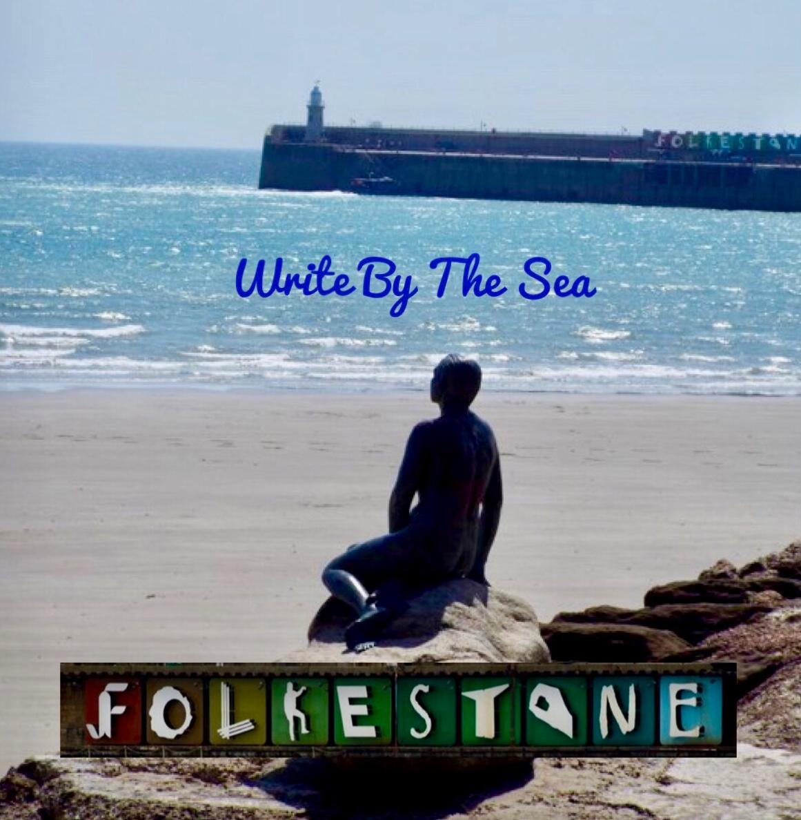 WRITE BY THE SEA IN FOLKESTONE
